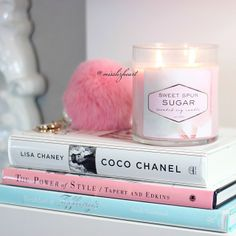 Books And Candles Bedroom Decor Glam Diy Beauty Room Makeup