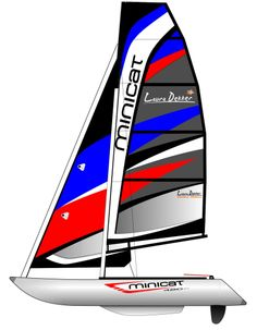 MiniCat 420 Laura Dekker Limited Edition  Fast sailing, ultra portable sailboat!