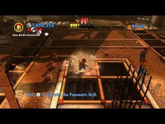 LEGO City Undercover (Wii U) - Complete Playthrough - Chapter 12 'The Con in Construction' - YouTube