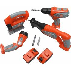 "Home Depot Deluxe Power Tool Set - Regent Oriental - Toys""R""Us"