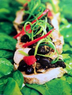 Steamed Pork Fillet With Black Bean Dressing - Cooking with Tenina #thermomix #tenina #recipe