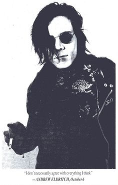 sisters of mercy andrew eldritch