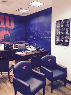Southern Methodist University (Dallas, Texas) Medalist seating in a private office. #NationalOffice #FurnitureWithPersonality