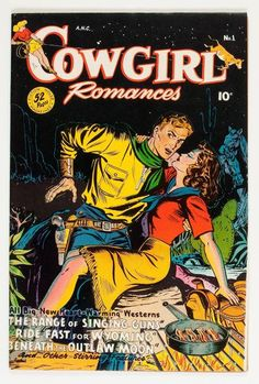 Cowgirl Romances comic book