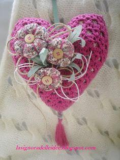 La Signora delle Idee: Crochet heart