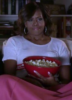 Ha! Watch Michelle Obama dish on her Frozen fandom