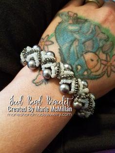Elegant Designer Seed Bead Bracelet