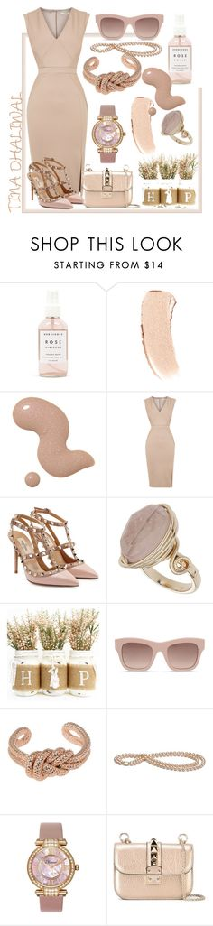 NUDES by tinadhaliwal on Polyvore featuring Oasis, Valentino, Chopard, Jil Sander, Topshop, STELLA McCARTNEY, Bobbi Brown Cosmetics and Herbivore Botanicals