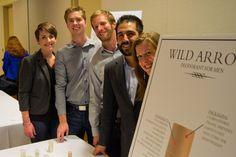 Finally, A Deodorant That Works. Meet Wild Arrow Developers The Fresh Tones: Carley Klekas (C17), Clay Carlson (C17), Daniel Heras (C17), Devon Bertram (C17), and Scott Bright (C17) #mba #sustainability #innovation