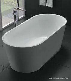 Newtech - Rio double ended oval bath Complete Bathrooms, Bad, New Zealand, Bathroom Ideas, Innovation, Vanity, Design, Home Decor, Tub
