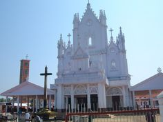 This is one of my favorite churches! Kerala Christian Pilgrimage Locations: Manarcad St.Marys Cathedral Church Kottayam