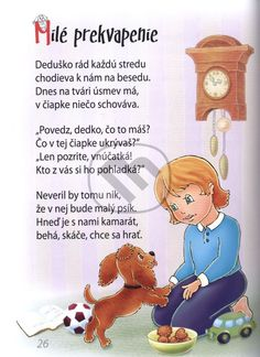detské básne - Hľadať Googlom Grandparents Day, Portfolio, Winnie The Pooh, Disney Characters, Fictional Characters, Preschool, Family Guy, Songs, Writing