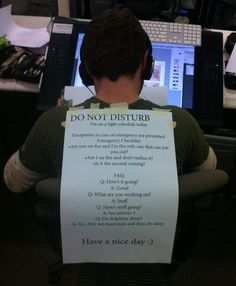 Do not disturb FAQ