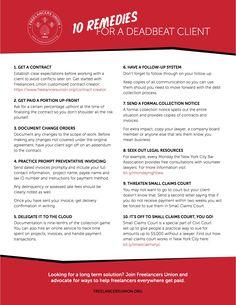 10 remedies for a de