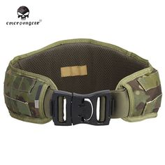 (36.39$)  Buy here - http://aix54.worlditems.win/all/product.php?id=32665952794 - EMERSON Tactical Padded Molle Waist Belt Hunting Battle Belt Airsoft 1000D Nylon Molle Combat Army Cummerbunds For Mens EM9086