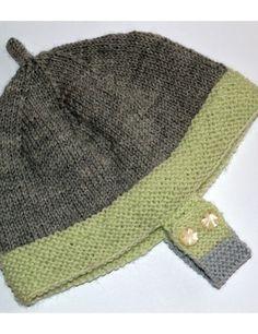 Bábätkovská čiapka Merino baby
