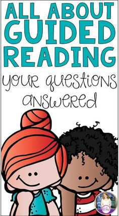 All About Guided Reading. Tons of ideas for starting or continuing Guided Reading in your primary classroom.