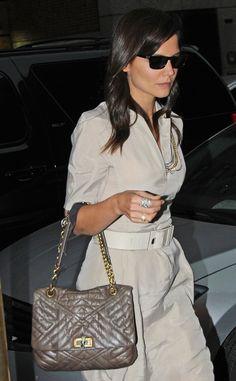 Los bolsos iconos de las firmas de moda: Katie Holmes con el Happy de Lanvin