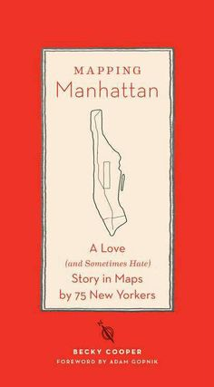 Blank Maps of Manhattan  the author passed around to randoms to fill out that Po Box back!