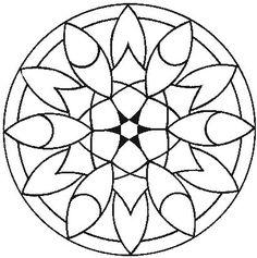 All Things Parchment Craft: A Few Parchment Craft Mandala Patterns Mandala Art, Mandalas Drawing, Mandala Coloring Pages, Colouring Pages, Coloring Books, Dot Painting, Silk Painting, Painting Patterns, Zentangle Patterns