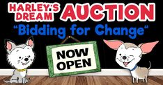 Bidding for Change - Harley's Dream Auction