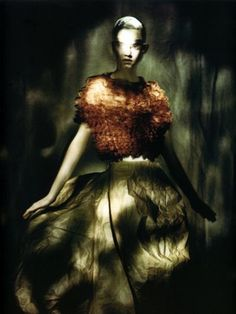 ☽ Dream Within a Dream ☾ Misty Blurred Art & Fashion Photography - Paolo Roversi