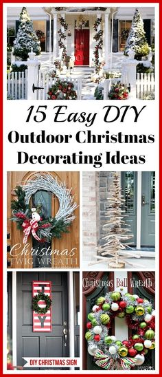 15 Easy DIY Outdoor