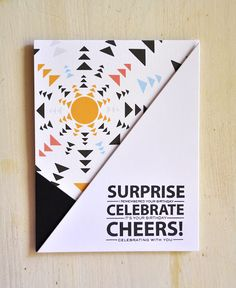 Surprise, Celebrate, Cheers! Card by Maile Belles for Papertrey Ink (July 2015)