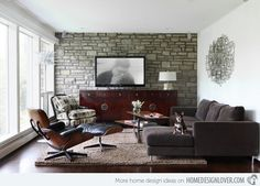 Cure Design Group Mid-century Modern Living Rooms