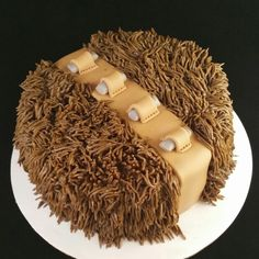 Chewbacca | smash cake | star wars | first birthday | @shuttercakes on IG