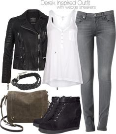 Casual Fall Outfits That Will Make You Look Cool – Fashion, Home decorating Teen Wolf Outfits, Teen Wolf Fashion, Winter Outfits, Casual Outfits, Fashion Outfits, Jean Outfits, Girl Fashion, Wedges Outfit, Outfit Jeans
