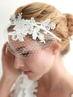 Extraordinary bridal headpieces are a great alternative to the traditional veil.