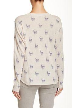 SKULL CASHMERE Giger Cashmere Skull Sweater