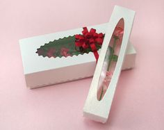 1:12 scale // Miniature Florist Boxes by true2scale on Etsy, $7.00