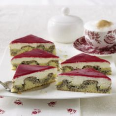 Jablkovo makové vlny Panna Cotta, French Toast, Rolls, Pasta, Cooking, Breakfast, Cake, Ethnic Recipes, Donuts