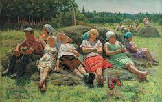 Сысоев Николай Александрович (1918-2001) «Полдень» 1985