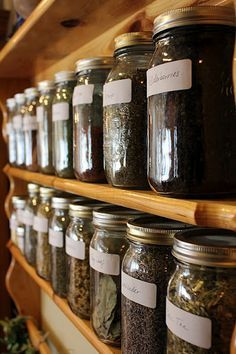 A simple start to a home apothecary with herbs, teas, leaves and such. Can be used prior to seeking medical treatment or in supplementation as desired. I've found most to be very effective.