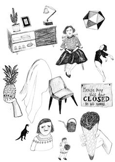 Illustrated by Ji Hyun Yu  http://www.ilikethisblog.net/?p=8921