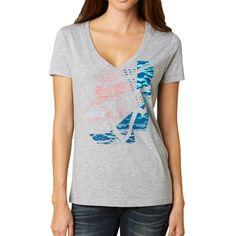 Fox Racing Ballistic V-Neck Girls Short-Sleeve Shirts