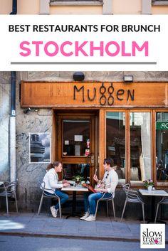 A guide to the best restaurants for brunch in Stockholm.18 of the most popular brunch menus in Sweden's capital city. | Slow Travel Stockholm Blog