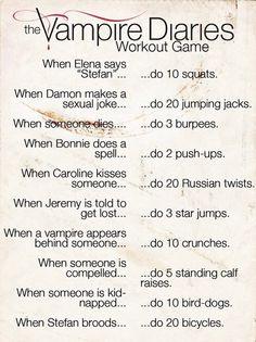 TVD workout