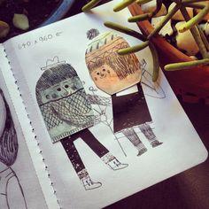 Sketchbook - Mar Hernández - malota - www.malota.es