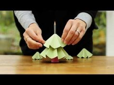 How to Make a Christmas Tree Out of Recycled Paper « Papercraft :: WonderHowTo