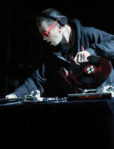 Sid Wilson of Slipknot performs during the Rock For ...