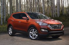 This Hyundai comes in two sizes, the two-row, five-passenger Sport and the three-row, seven-seat model, which is badged simply Santa Fe.