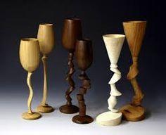 Image result for wood turned goblets