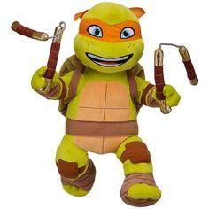 Tortugas Ninja de peluche