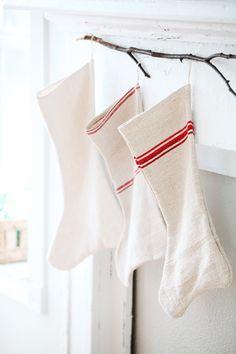 grain sack stockings