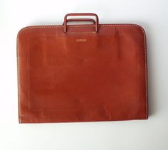 Vintage Rexbilt Leather Portfolio Briefcase by PoorLittleRobin, $28.00