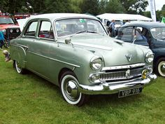 Vauxhall cresta EPIC (1955-57) Engine 2262cc S6 OHV  Production 166,504 Registration Number VBP 916 VAUXHALL SET www.flickr.com/photos/45676495@N05/sets/72157623863172810... The new version of the Vauxhall Velox was launched in 1951 with a 2262cc S6 OHV, with the upmarket Cresta joining the range in 1955. The Cresta shared the same body shell and engine in the same state of tune, but scored over the Velox in having a choice of leather or fabric upholstery, optional two tone paintwork, a…